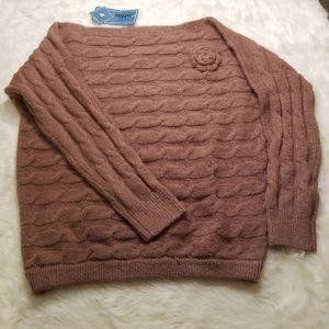NWT Military Hippie Sweater